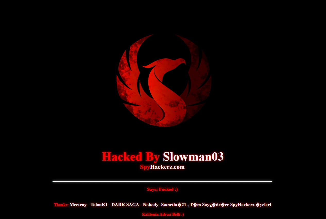 Hacked By Slowman03